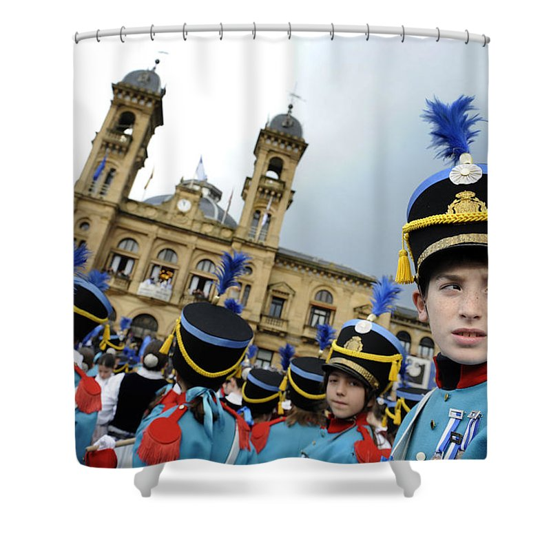 Spain Shower Curtain featuring the photograph Little Soldiers Iv by Rafa Rivas