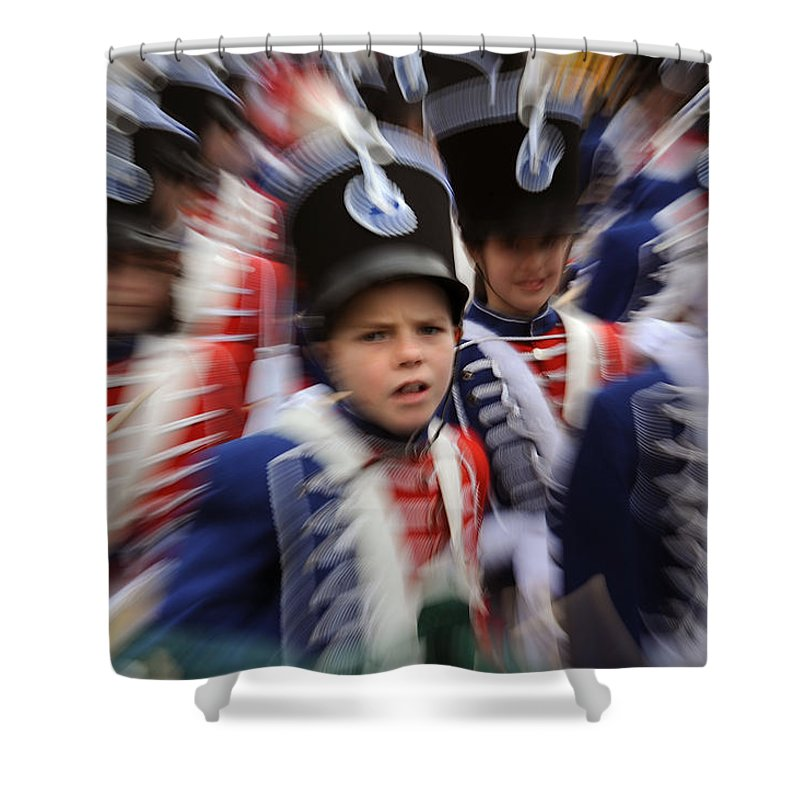 Spain Shower Curtain featuring the photograph Little Soldiers Vii by Rafa Rivas