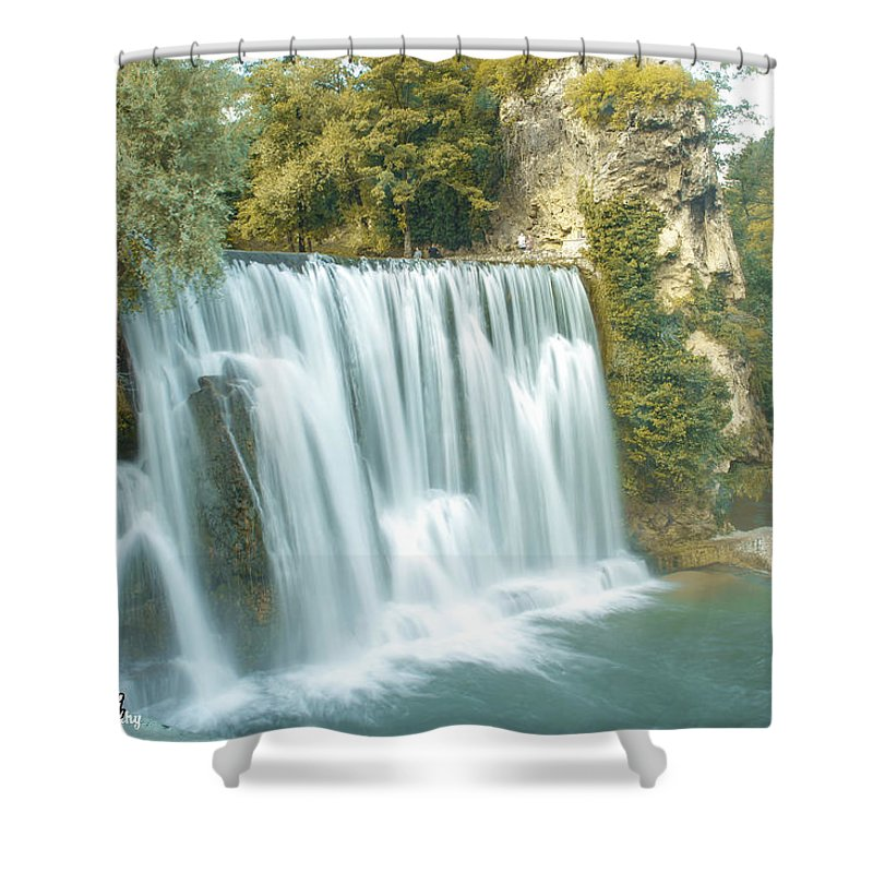 Sell Shower Curtain featuring the photograph Locally by Khaled Alkhaldi