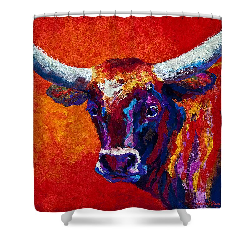 Longhorns Shower Curtains