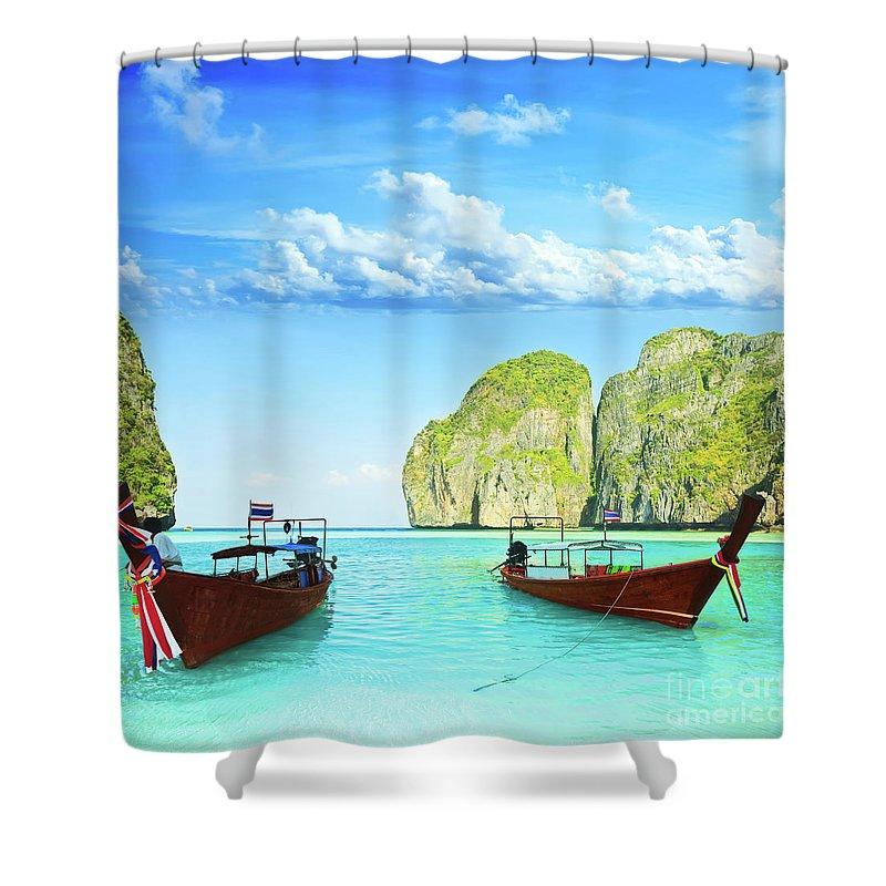 Phi Phi Island Shower Curtains