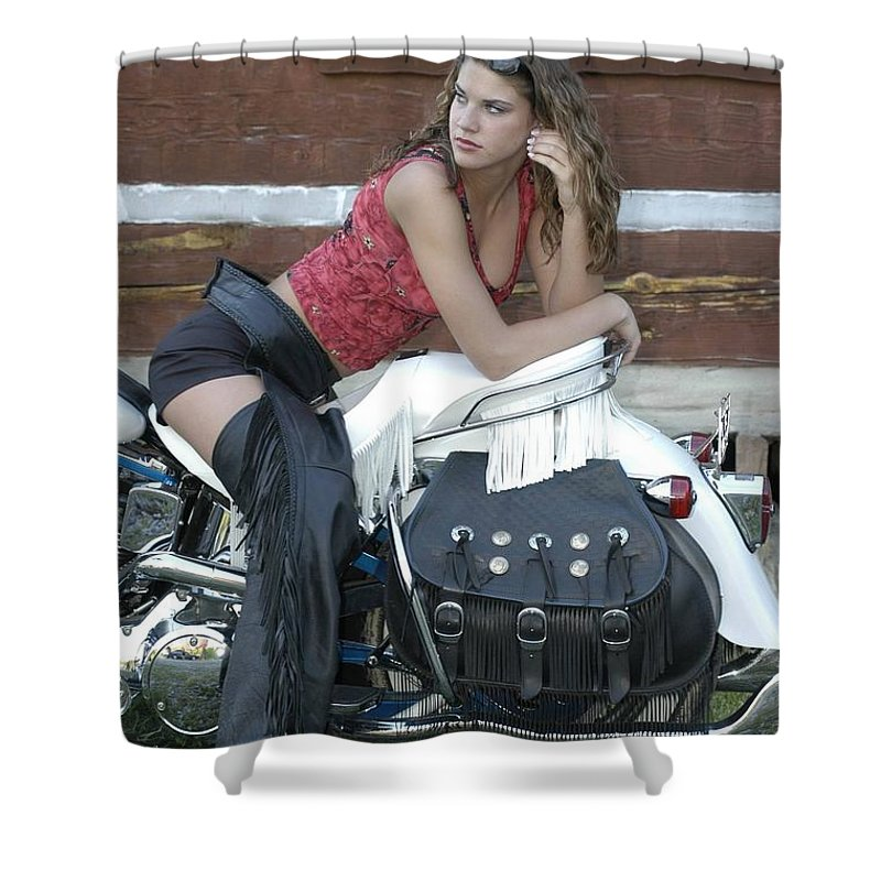 Clay Shower Curtain featuring the photograph Looking Back On Life by Clayton Bruster