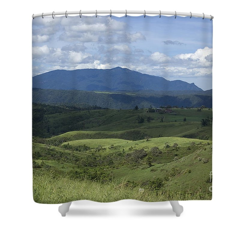Atherton Tablelands Shower Curtain featuring the photograph Looking East by Kerryn Madsen-Pietsch
