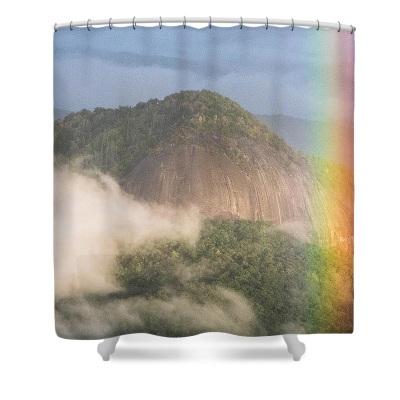 Looking Glass Rock Shower Curtain featuring the photograph Looking Glass Rock by Brittany Jordan