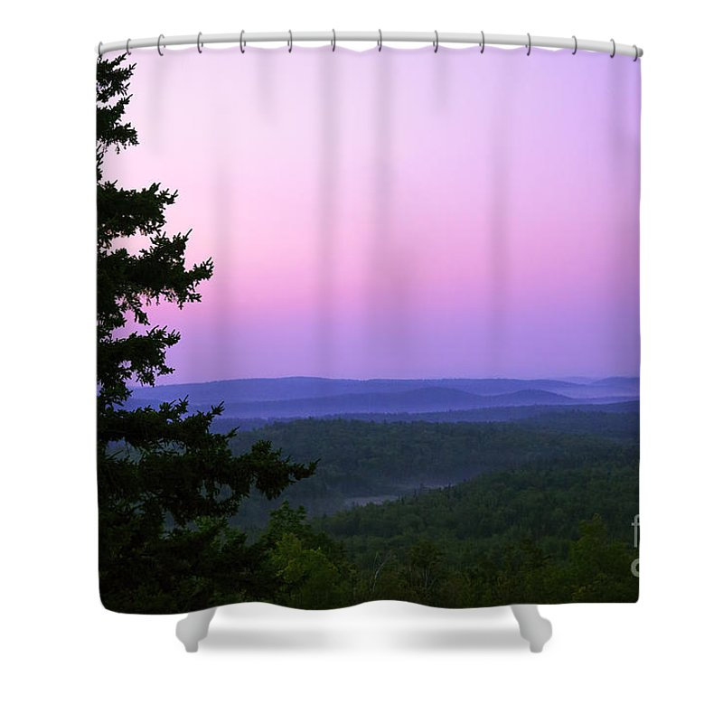 Art Shower Curtain featuring the photograph Looking Out Looking Over by Joe Geraci