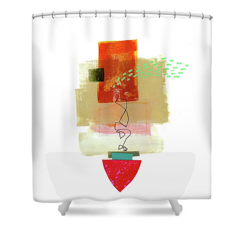Scribble Shower Curtains