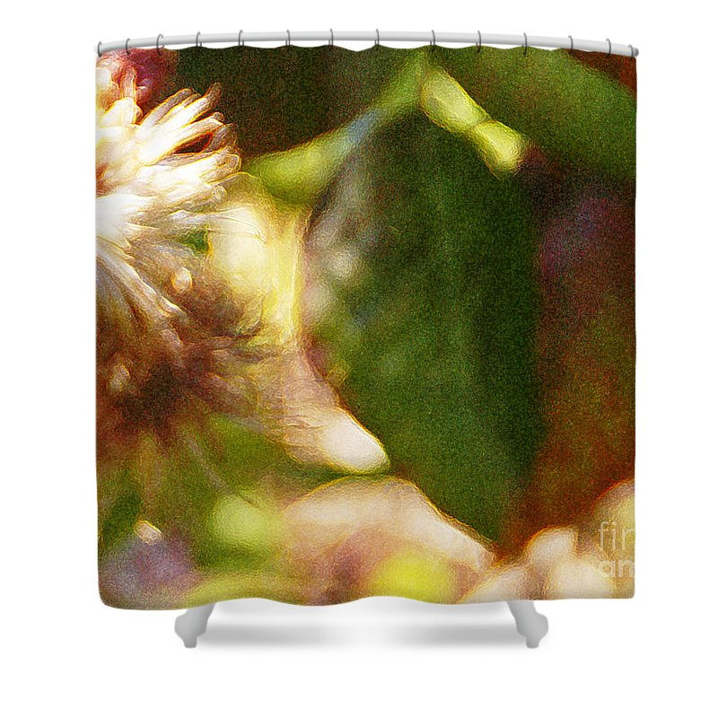 Wildflower Shower Curtain featuring the photograph Love Notes by Linda Shafer
