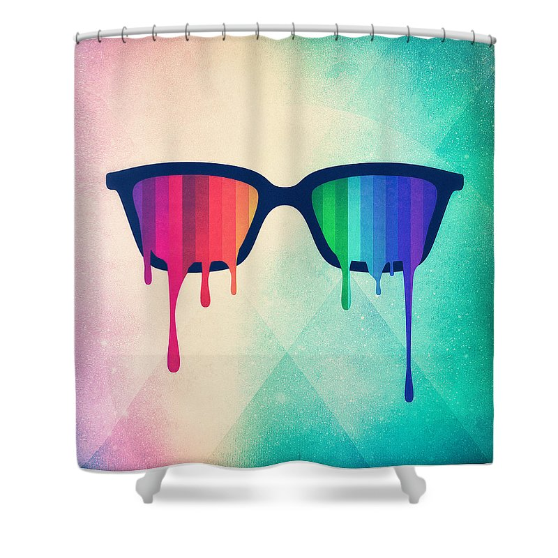 Glass Shower Curtains
