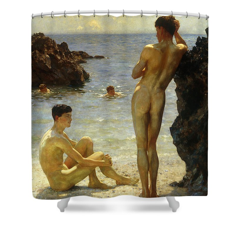Nude Shower Curtains