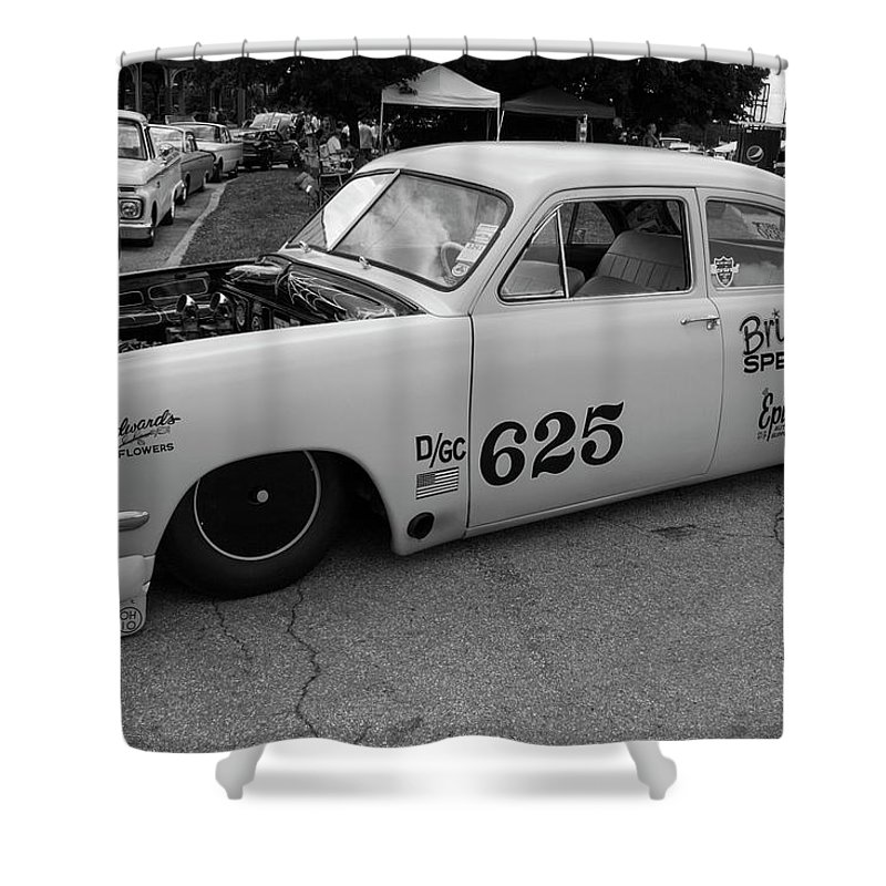 Digital Shower Curtain featuring the photograph Low Low Low by Jeff Roney