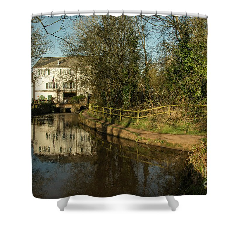 Cullompton Shower Curtain featuring the photograph Lower Mill Of Cullompton by Rob Hawkins