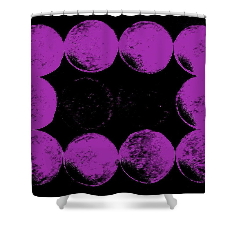 Still Life Shower Curtain featuring the photograph Lunar Landing by Ed Smith