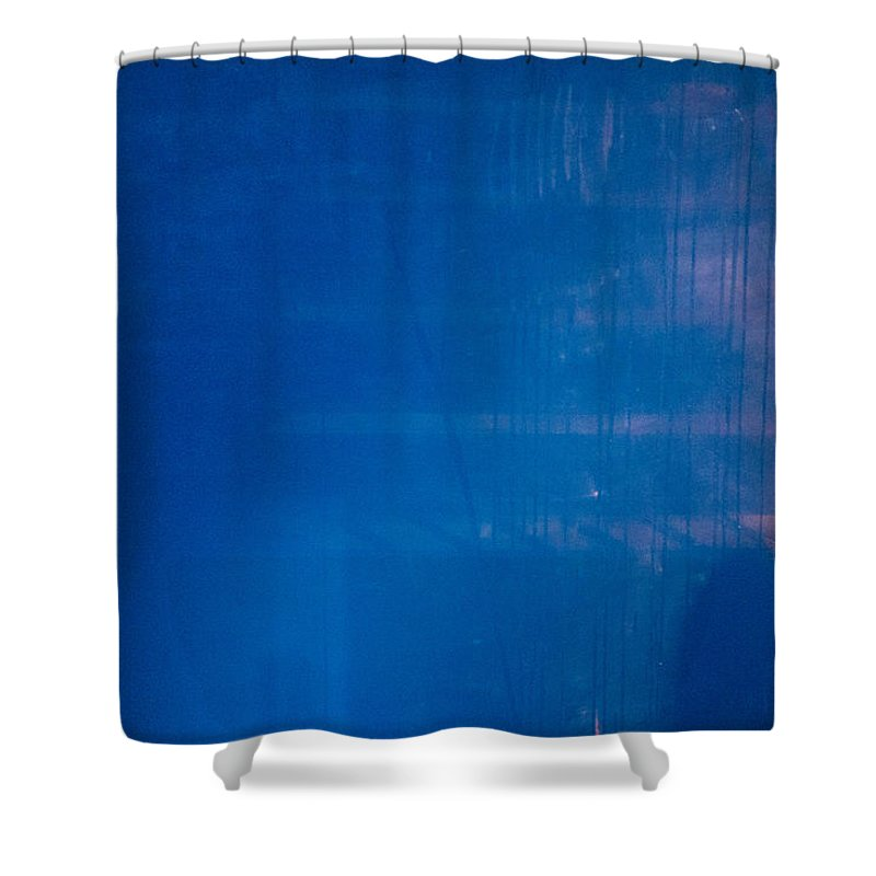 Lurking Shadow Shower Curtain featuring the photograph Lurking Shadow by Karol Livote