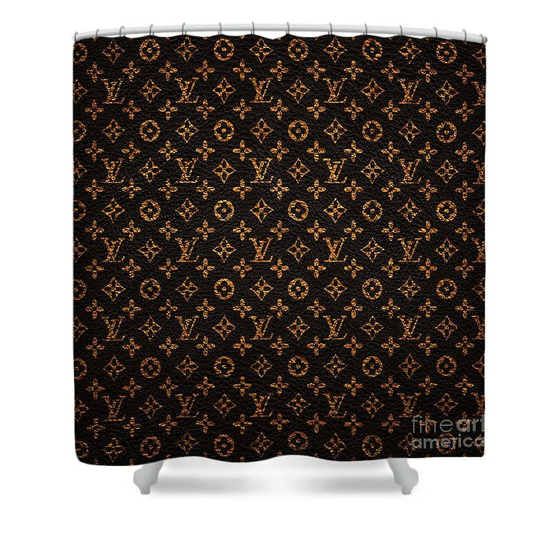 Lv Shower Curtain Featuring The Painting Pattern By Janis Marika