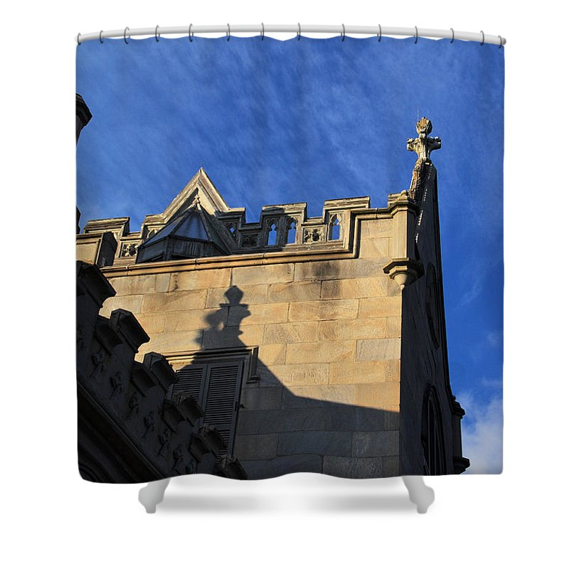 Ny Shower Curtain featuring the photograph Lyndhurst Mansion 2 by Rich Bodane