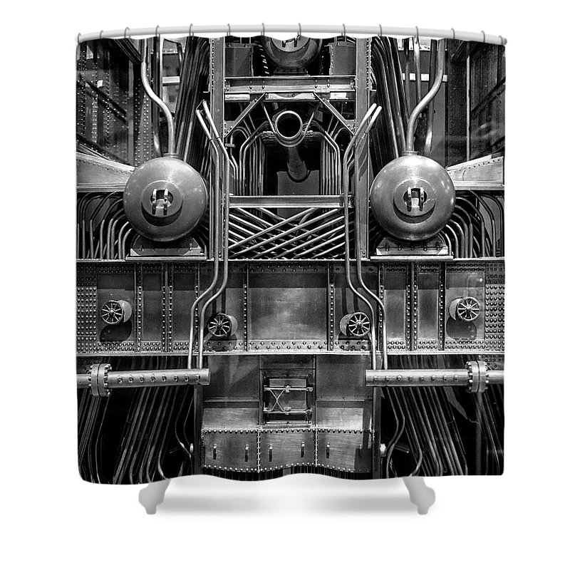 Machine Shower Curtain featuring the photograph Machine by Dave Mills