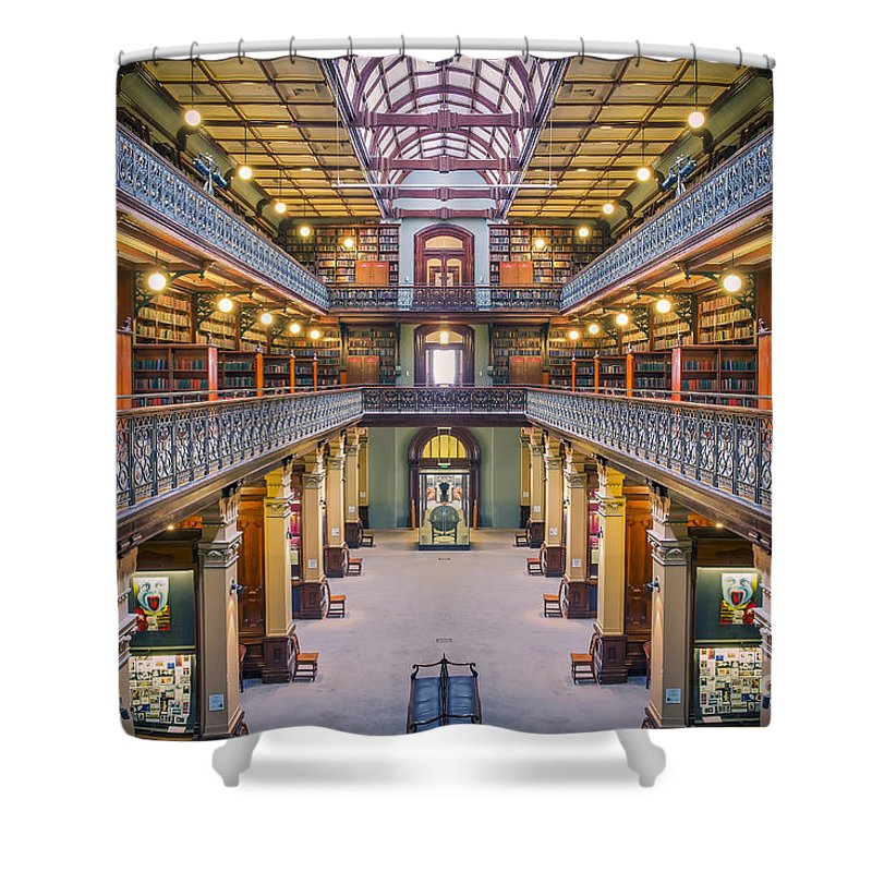 Stunning Architecture Shower Curtain featuring the photograph Magic Mortlock by Ray Warren