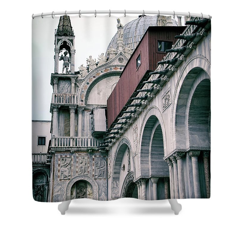 Kasia Shower Curtain featuring the photograph Magical Venice by Mariola Bitner