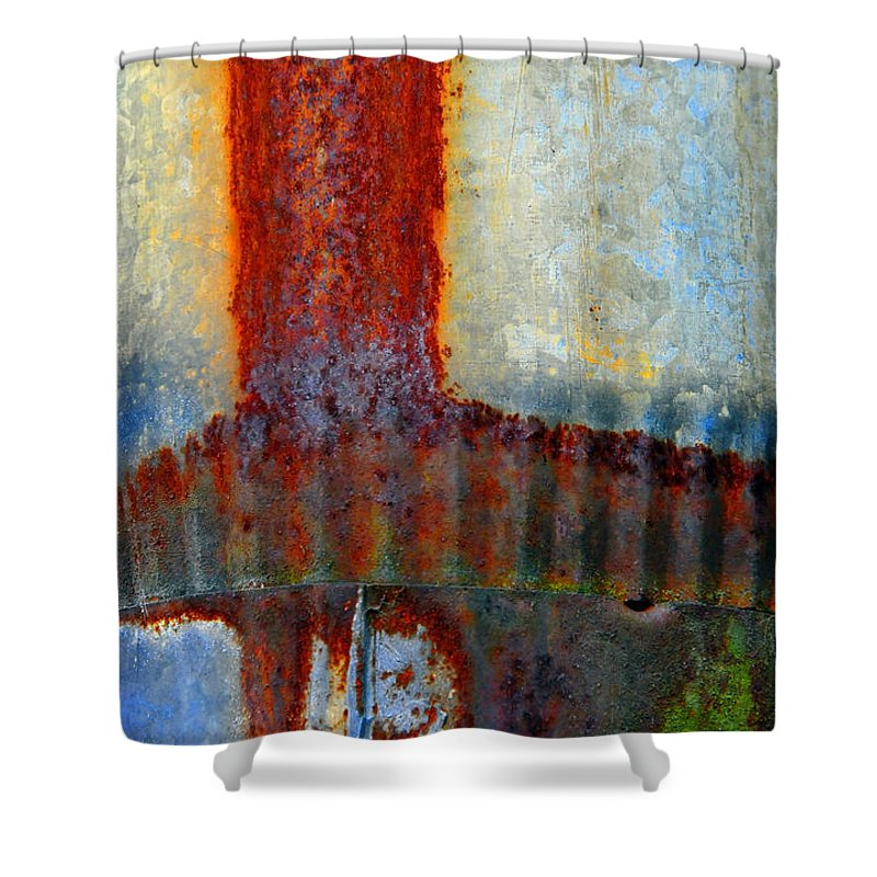 Skip Hunt Shower Curtain featuring the photograph Magma by Skip Hunt