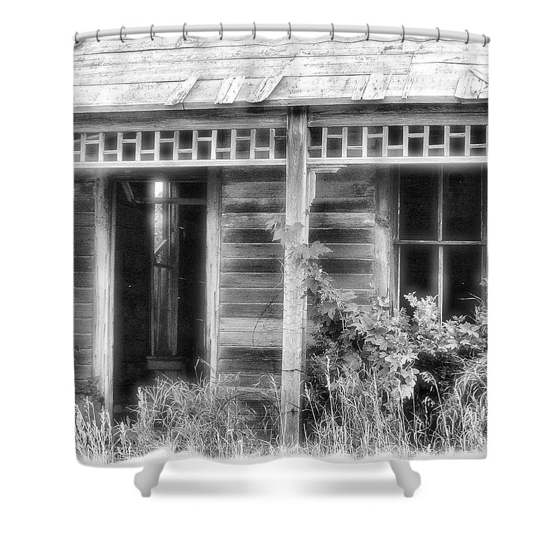 Enhanced Photo Shower Curtain featuring the photograph Maiden History 2 by Susan Kinney