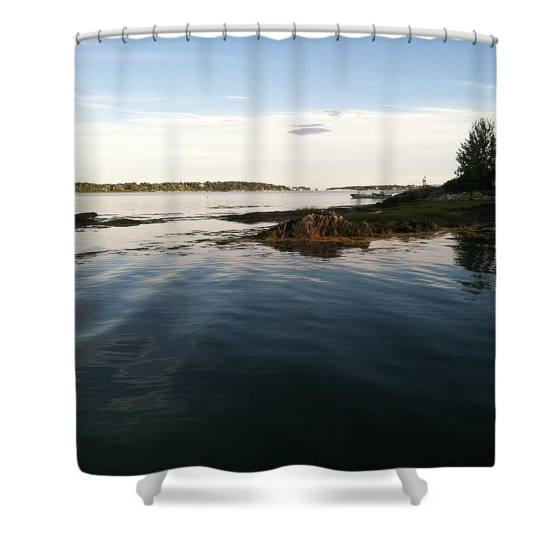Maine Shower Curtain featuring the photograph Maine by Robert Turcotte