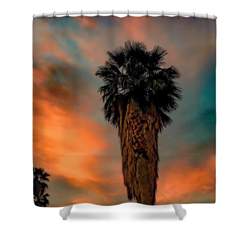 Art Shower Curtain featuring the photograph Majesty by Chris Tarpening