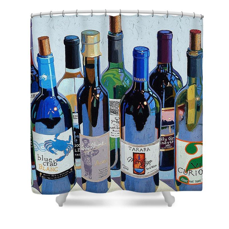 Wine Shower Curtains