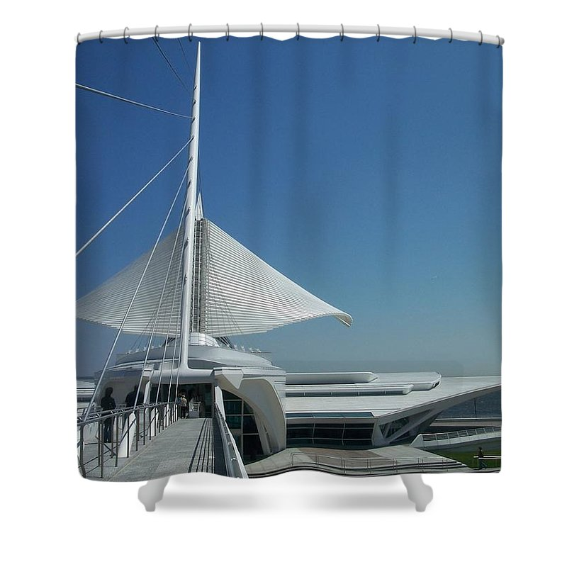 Mam Shower Curtain featuring the photograph Mam Series 2 by Anita Burgermeister