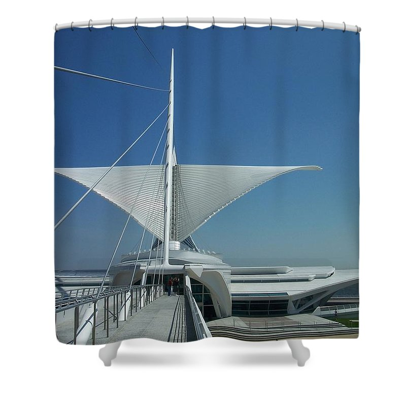 Mam Shower Curtain featuring the photograph Mam Series 4 by Anita Burgermeister