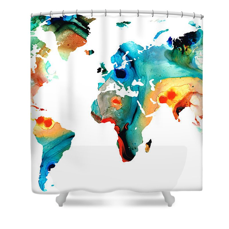 map shower curtain world map shower curtains pixels 13310