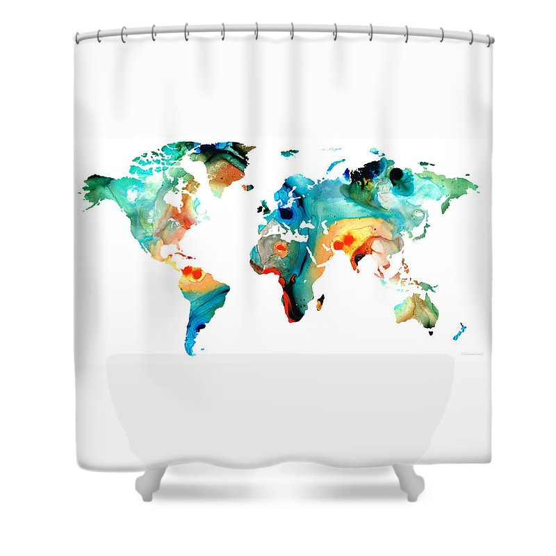 North America Shower Curtains