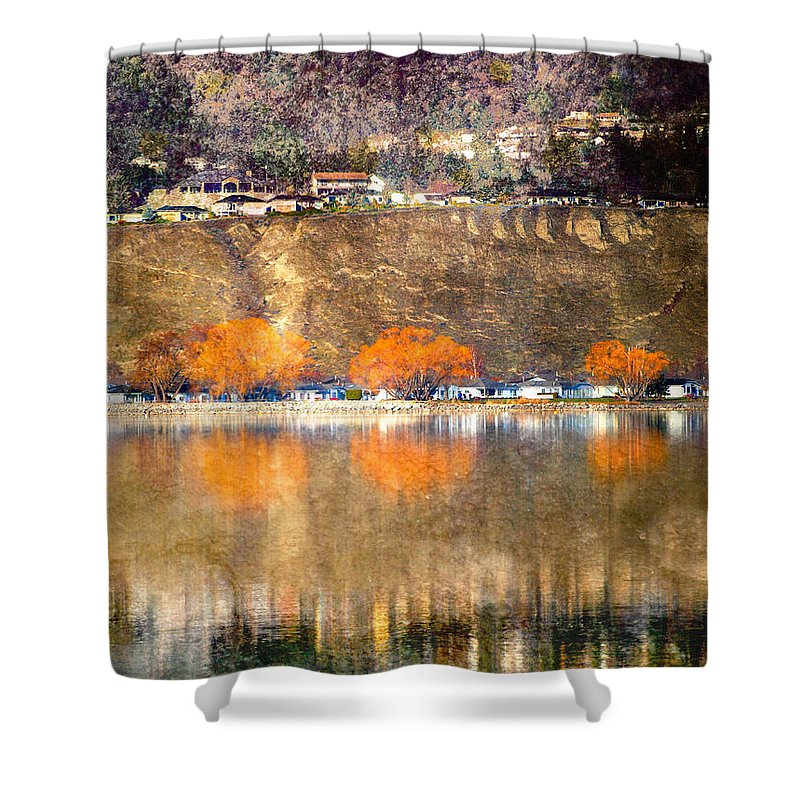 Reflections Shower Curtain featuring the photograph March 13 2010 by Tara Turner