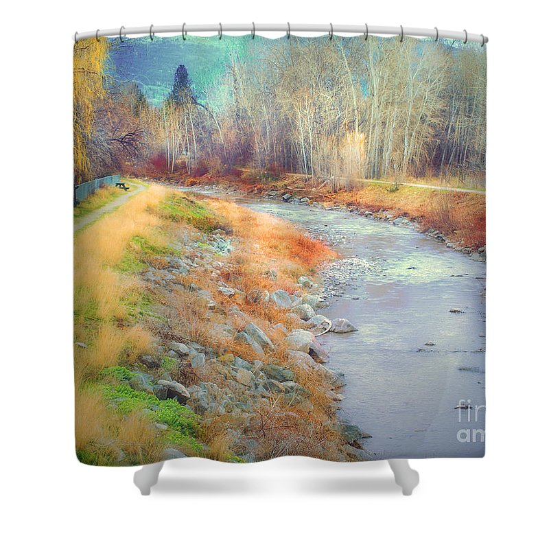Creek Shower Curtain featuring the photograph March 21 2010 by Tara Turner