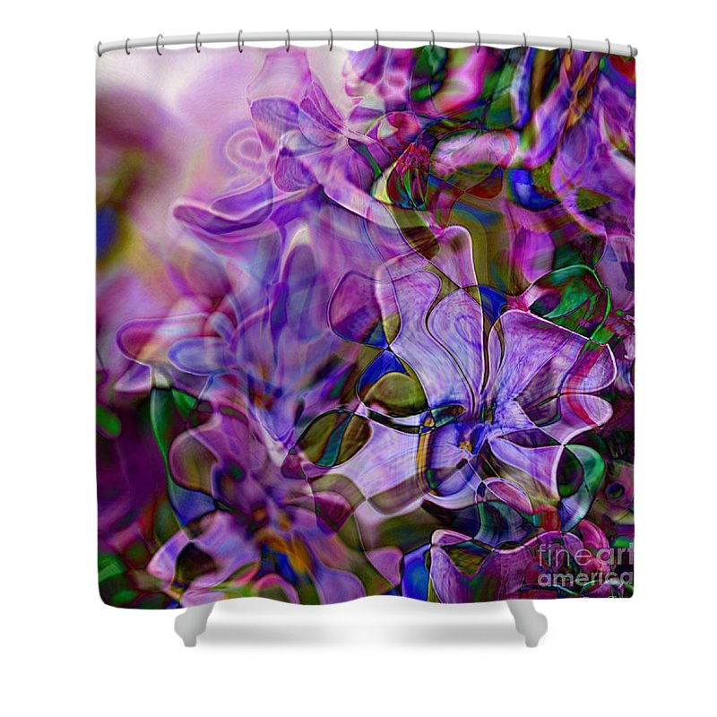 Margolka Shower Curtain featuring the digital art Margolka by Fabrizio Terzi