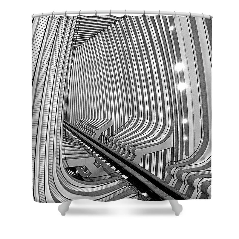 Architecture Shower Curtain featuring the photograph Marquis by Dick Goodman