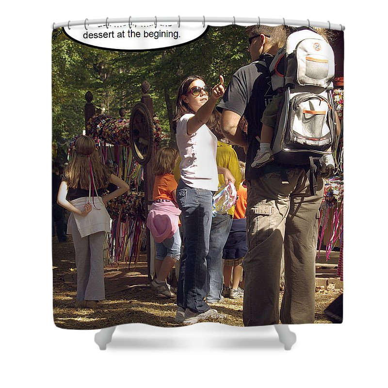 2d Shower Curtain featuring the photograph Marriage by Brian Wallace