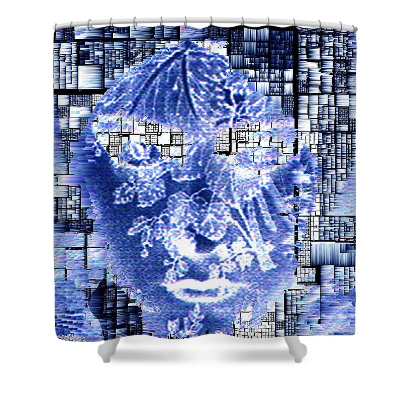 Mask Shower Curtain featuring the photograph Mask Of The Great Lady by Seth Weaver