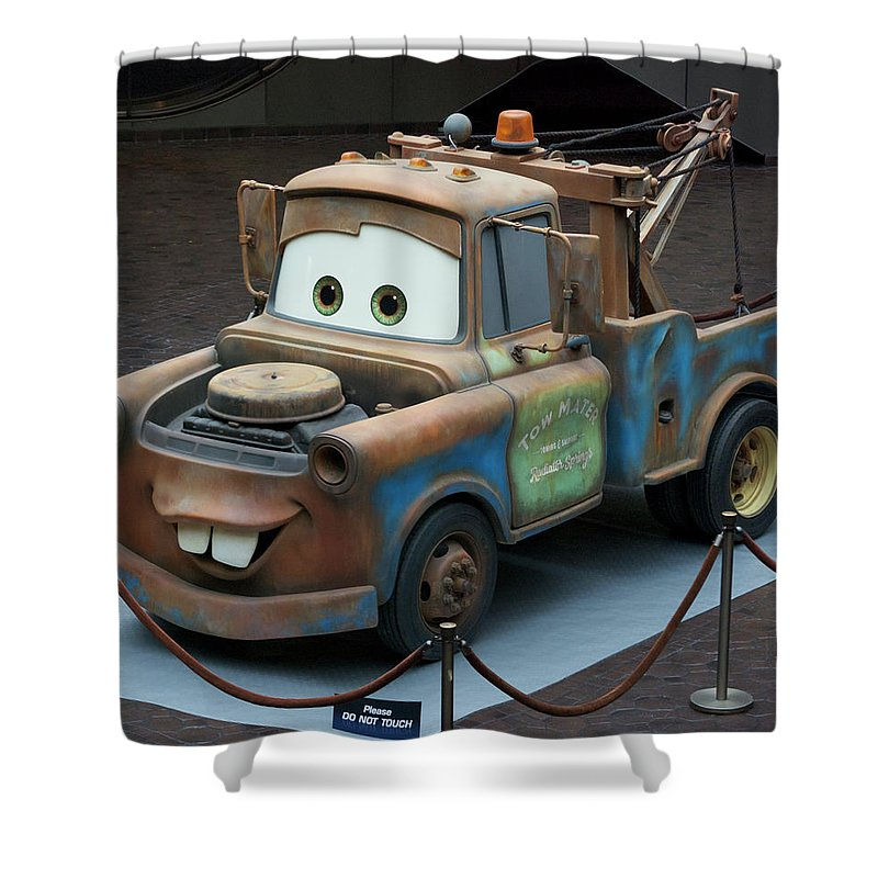 Mater Shower Curtain featuring the photograph Mater Mp by Thomas Woolworth
