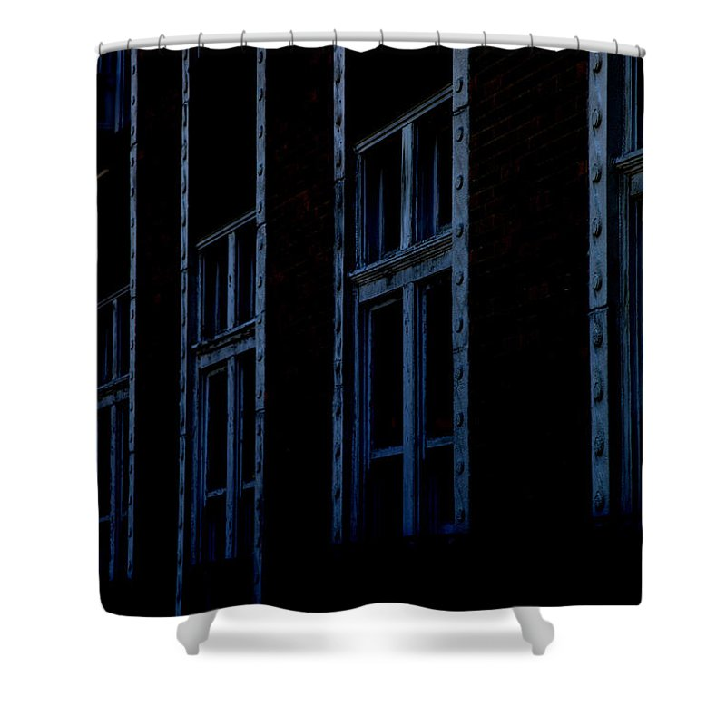 Windows Shower Curtain featuring the photograph Matrix by Amanda Barcon