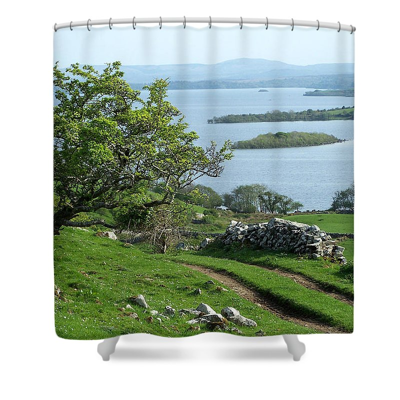 Ireland Shower Curtain featuring the photograph May The Road Rise To Meet You by Teresa Mucha