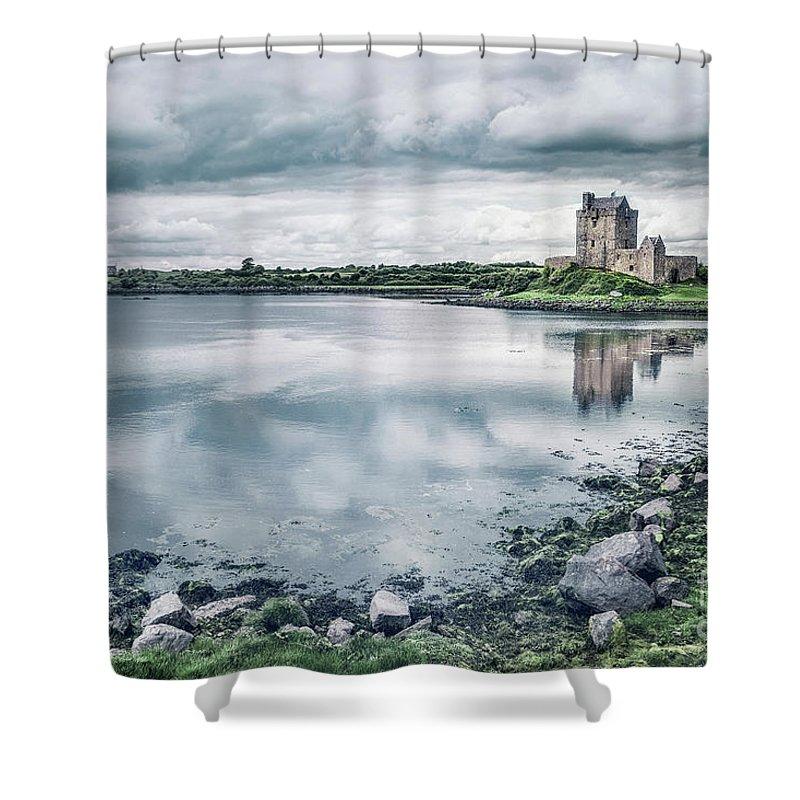 Kremsdorf Shower Curtain featuring the photograph Medieval Presence by Evelina Kremsdorf