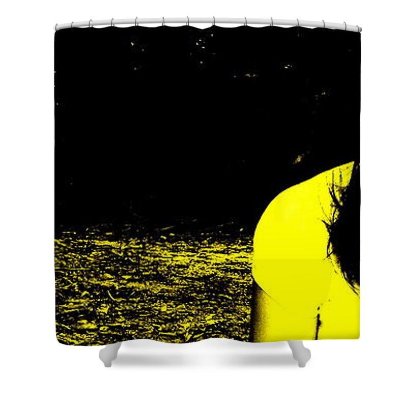 Medusa Shower Curtain featuring the photograph Medusa by Ed Smith