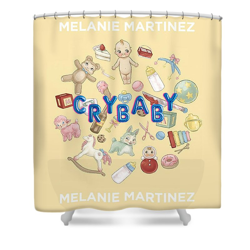 Melanie Martinez - Cry Baby Shower Curtain for Sale by GaGaMonster152