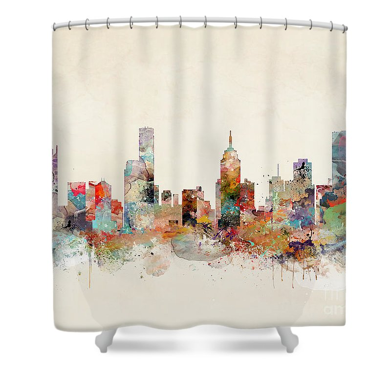 Melbourne Shower Curtains