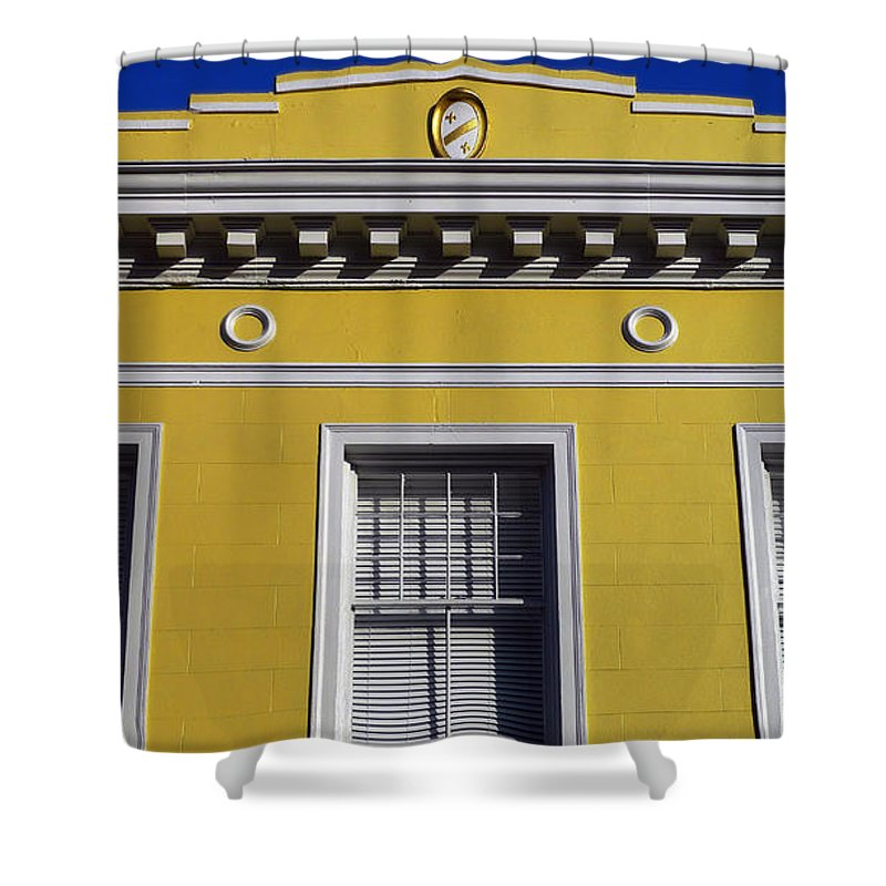 Mellow Yellow Shower Curtain featuring the photograph Mellow Yellow by Skip Hunt