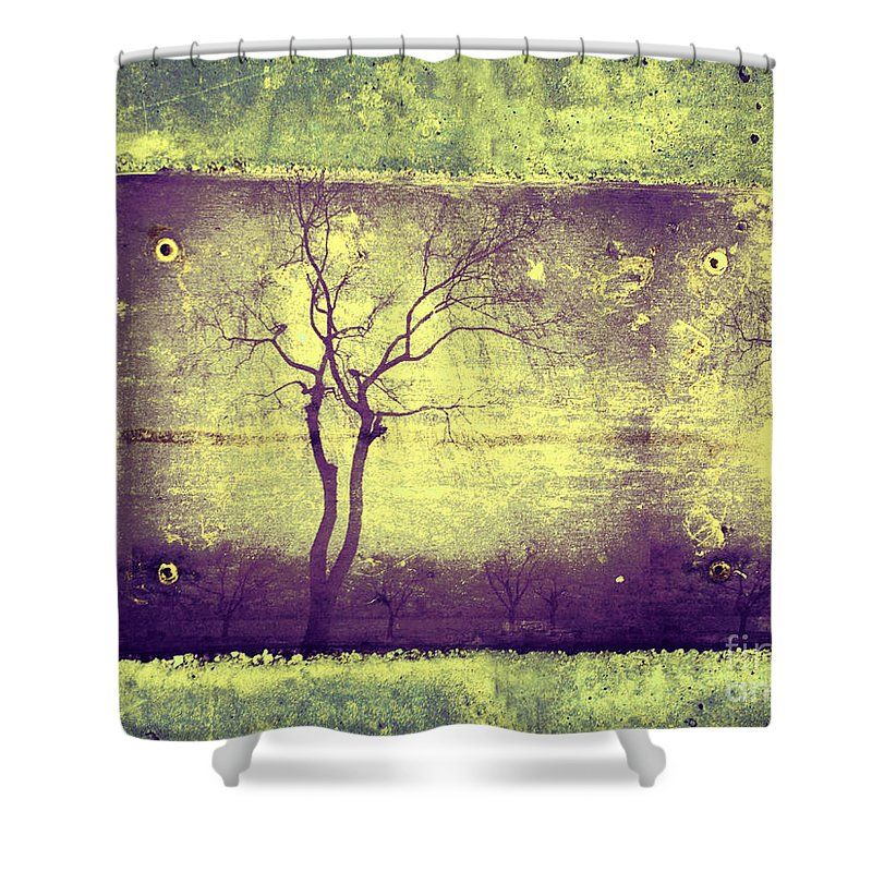 Horizon Shower Curtain featuring the photograph Memories Like Trees by Tara Turner