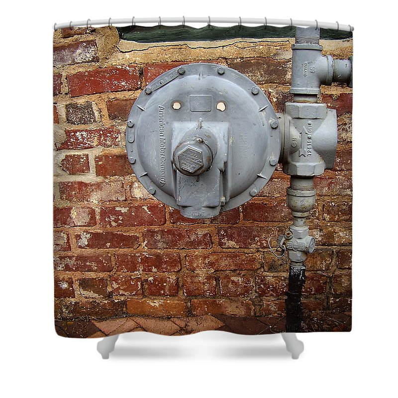 Meter Shower Curtain featuring the photograph Meter In Athens Ga by Flavia Westerwelle