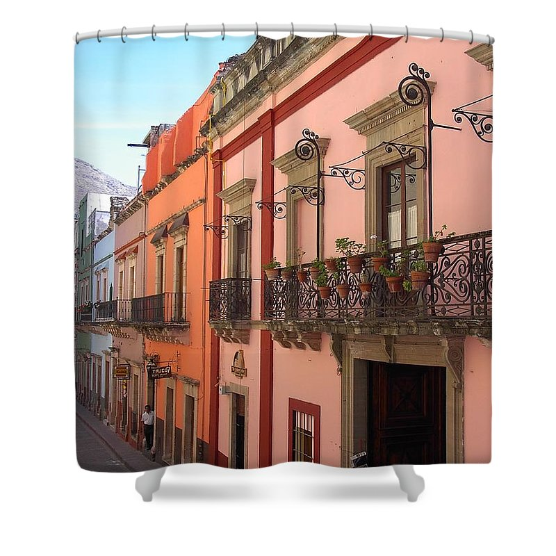 Charity Shower Curtain featuring the photograph Mexico by Mary-Lee Sanders