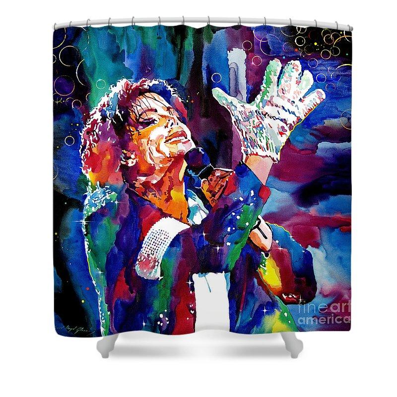 Michael Jackson Shower Curtains