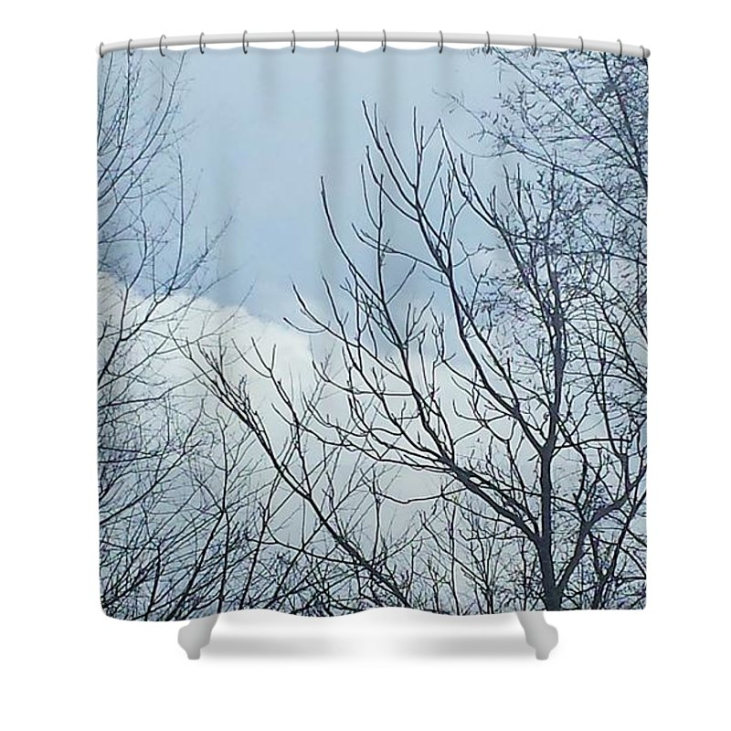 Spring Shower Curtain Featuring The Photograph Michigan Thunderstorm By Jennifer Kohler